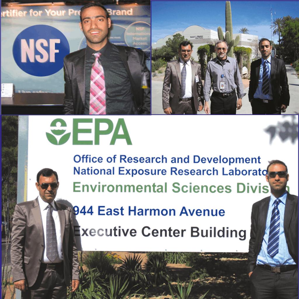 Επίσκεψη στα γραφεία του NSF και της U.S. EPA στις Η.Π.Α.
